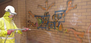graffiti removal in Manchester & Bolton