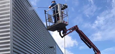industrial cladding cleaning Manchester & Bolton