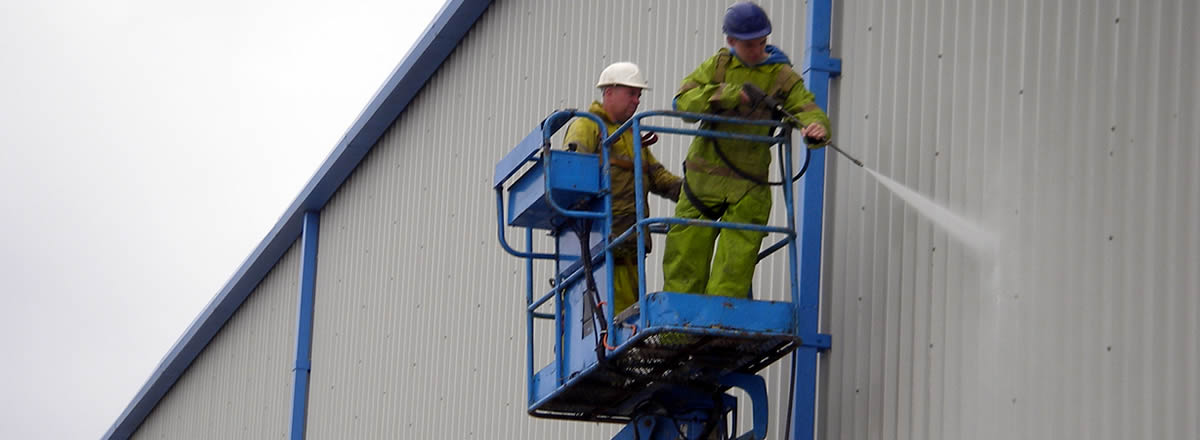 industrial cladding cleaning Northwest Manchester Bolton