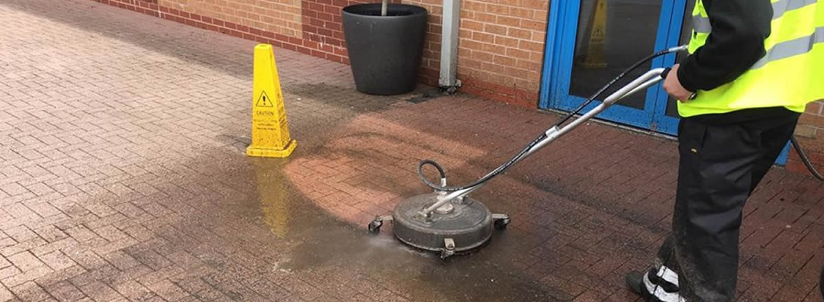 domestic and commercial block paving cleaning manchester
